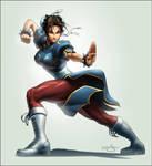 TPB Chun Li Legends Cover by Omar-Dogan