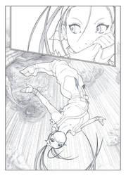 Ibuki Page 4 of 4 BW by Omar-Dogan