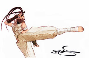 Ibuki Kick by Omar-Dogan