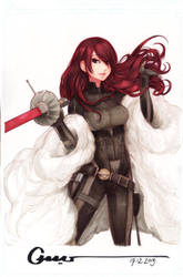 Mitsuru Commission by Omar-Dogan