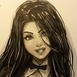 Zatanna concept 2 visage by Omar-Dogan