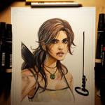 Lara Croft Survived by Omar-Dogan