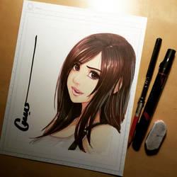 Tifa Sketch 001 by Omar-Dogan