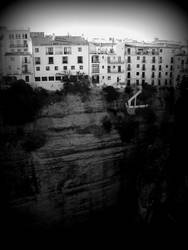 Living on the Edge in Espana by Zarayla-Artist