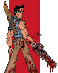 Defeater of The Evil Dead-Ash by Superchica