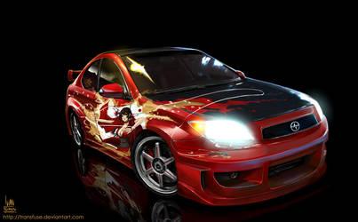 Red Ninja tC by transfuse