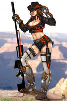 Joanna: Cowgirl Sniper by transfuse