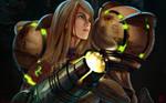 Samus Aran: Battlescars by transfuse