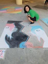 Chalk Art by Rosie119