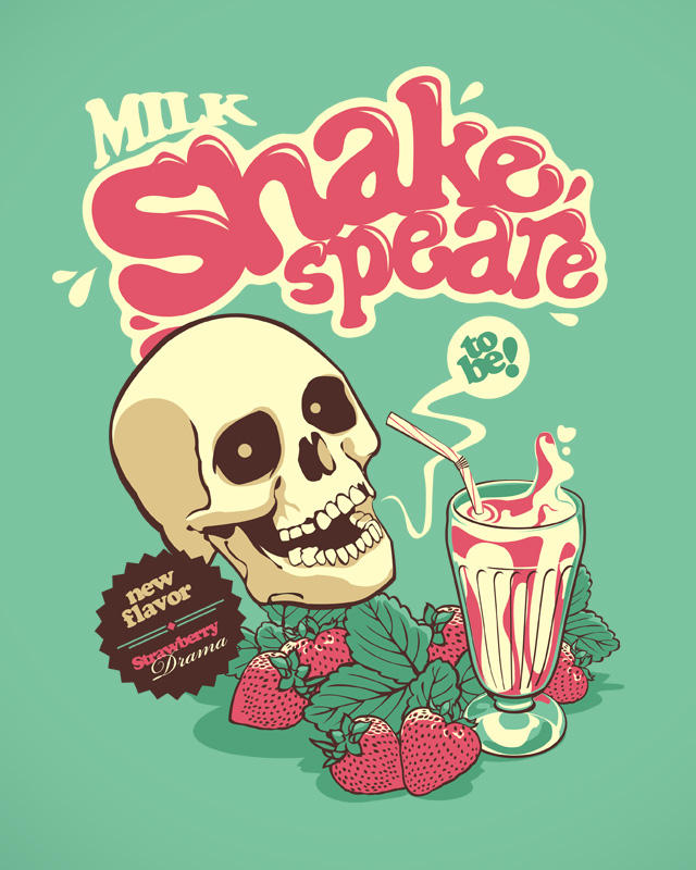 Milk Shakespeare by dracoimagem-com