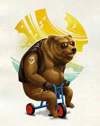 Born to bear wild by dracoimagem-com