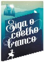 Ideais: Siga o Coelho Branco by dracoimagem-com