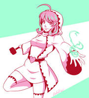 Final Fantasy - White Mage by Otakatt