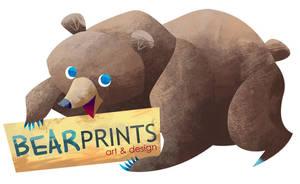 business card bear by MelDraws