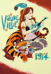 Vaudeville 1914 by MelDraws
