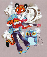 Rockin Bass Tuigar by MelDraws