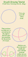 Cat-ish Face Drawing Tutorial by Apathetic-Nymph