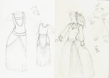 2016 fashion doodles by micamone