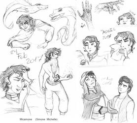 Mozenrath Doodles by micamone