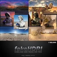 Fakehdri Packs #041-044 by fakehdri