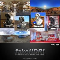 Fakehdri Packs #061-064 by fakehdri