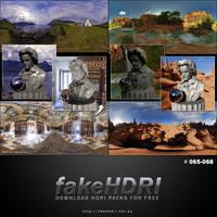 Fakehdri Packs #065-068 by fakehdri