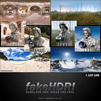 Fakehdri Packs #137-140 by fakehdri