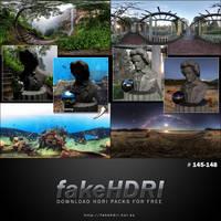Fakehdri Packs #145-148 by fakehdri