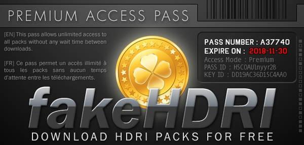 Premium Access Pass #2 by fakehdri