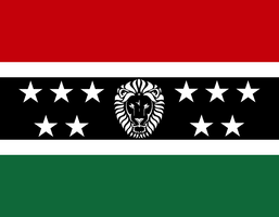 Federation of African Nations Flag (New) by NRE86
