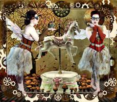 Carousel Horse by TheFantaSim