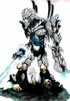 Nightmare Humanoid by MacDoninri