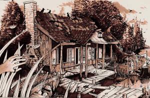 Fisherman's house by MacDoninri