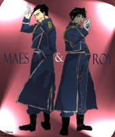 Maes and Roy for Chiron by Kimblee18