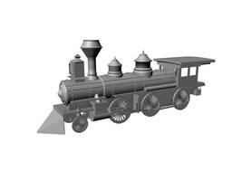 3D locomotive model by yashmeet135