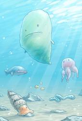 Sea life by Handre