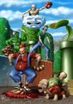 Mario Bros. by Handre