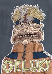 Naruto Birthday Card by Handre