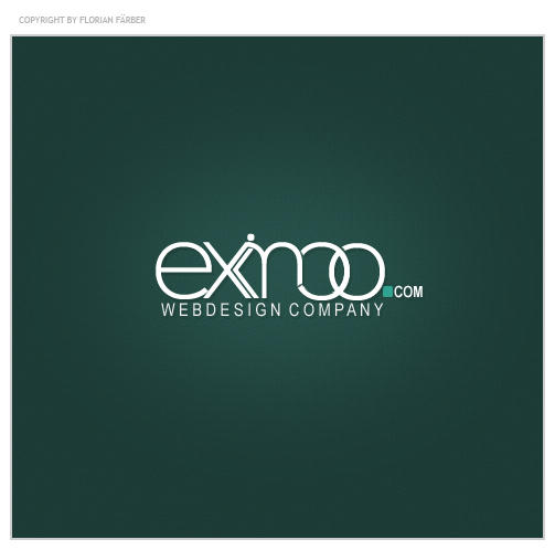 eximoo.com - logotype by painsworld