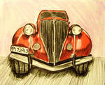 red car by tarotwisdom