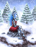 Winter Fairy by Kittensoft