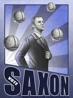 Vote Saxon by Kittensoft