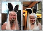 Bunny no.8 vs Benjamin Linus by Kittensoft