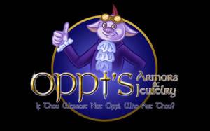Oppi's Logo by Kittensoft