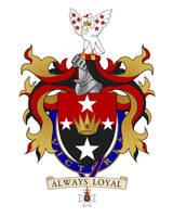 Coat of Arms - Sir John Yocklunn by Kittensoft