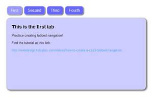 Basic Tabbed Navigation by Kittensoft