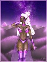 Star Sapphire - Alien Princess by Kittensoft