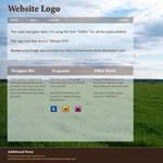 Field-themed Web Layout by Kittensoft