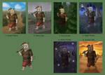 Schoolism - Final Assignment Thumbnails by Kittensoft