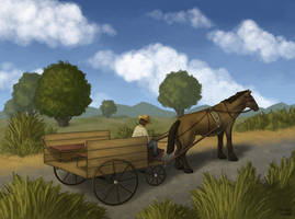 Cuban Wagon Ride by Kittensoft